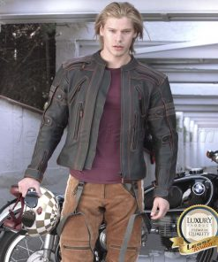 Leather Pants Motorcycle Cafe Racer Lessy Aviator Solitude