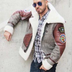 bomber-B3-jacket-lessy-aviator-gray+brown-01